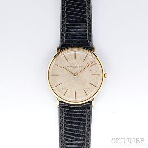 Gentleman's 18kt Gold Wristwatch, Audemars Piguet
