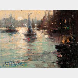 John Terelak (American, b. 1942)      Gloucester Harbor