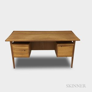 Peter Lovig Nielson Teak Desk for Lovig Dansk