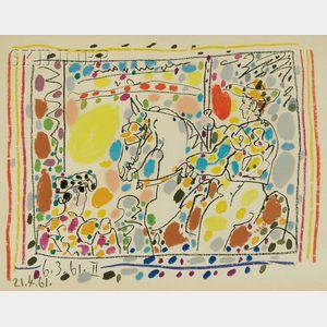 Pablo Picasso (Spanish, 1881-1973)      Le Picador II