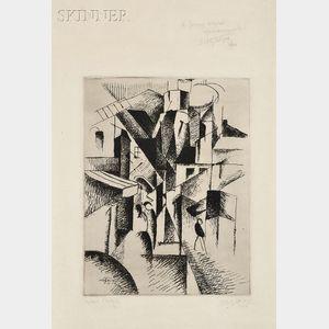 Albert Gleizes (French, 1881-1953)      Rue Animée