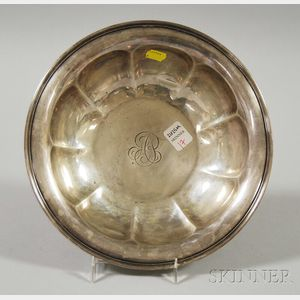 Reed & Barton Sterling Silver Lobed Bowl