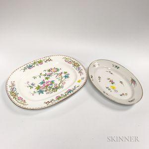 Two Porcelain Platters