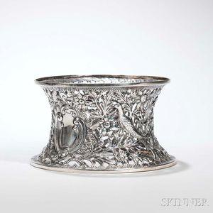 George III Irish Sterling Silver Dish Ring