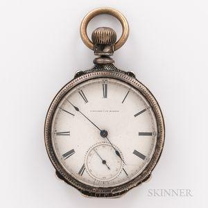 E. Howard & Co. Coin Silver Open-face Watch