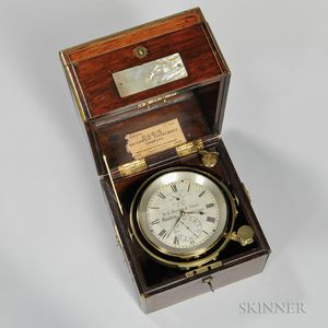 William Bond & Son Two-day Marine Chronometer