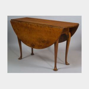 Queen Anne Maple Dining Table