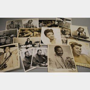 Fifteen Duke Ellington and Orchestra Member Publicity Portrait Photographs