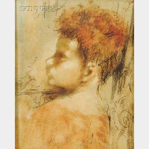 Conger A. Metcalf (American, 1914-1998)      Portrait of a Boy