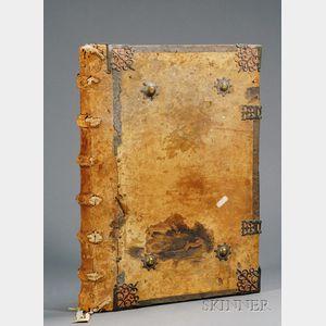 (Antiphonal), European, 16th century