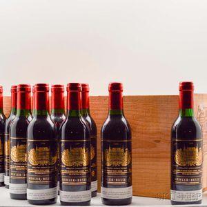 Chateau Palmer 1989, 24 demi bottles (owc)