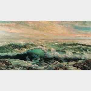 American School, 20th Century      Ocean Waves