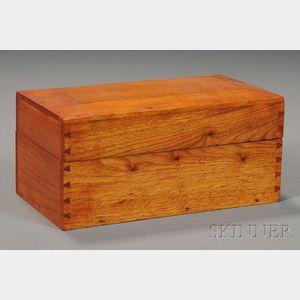 Shaker Butternut Handkerchief Box