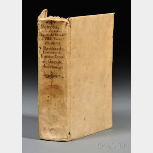 Sold for: $32,400 - Medieval Text Manuscript, Delectus Opusculorum