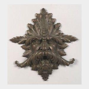 Cast Bronze Northwind Plaque