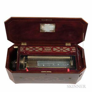Nicole Freres Organ Celeste Cylinder Musical Box
