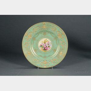 Twelve Royal Worcester Porcelain Artist Signed Service Plates