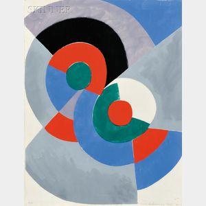 Sonia Delaunay-Terk (Ukrainian, 1885-1979)      Untitled