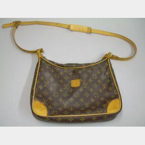 Vintage Louis Vuitton Leather Handbag