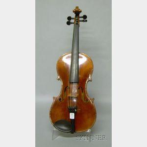 Modern German Violin, E.H. Roth Workshop, 1952