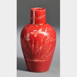 Art Nouveau Art Pottery Vase