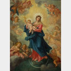 After Carlo Maratta (Italian, 1625-1713)    Immaculate Conception