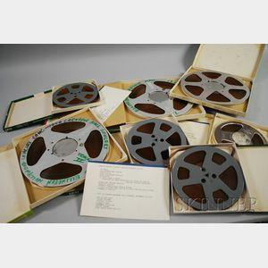 Seven Duke Ellington Reel-to-Reel Recordings