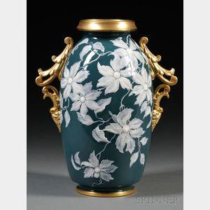 Grainger Worcester Porcelain Pate-sur-Pate Vase