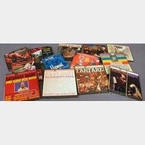 Thirteen Vintage Prerecorded Reel-to-Reel Tapes