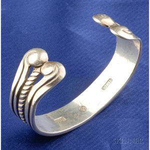 Silver Cuff Bracelet, William Spratling