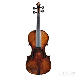 Violin, Prague School, Ferdinand August Homolka, c. 1875