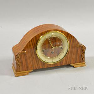 Kienzle Rosewood Veneer Mantel Clock