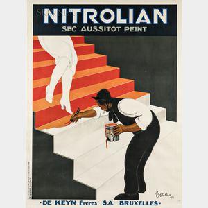 Leonetto Cappiello (French, 1875-1942)      Nitrolian Sec Aussitôt Peint