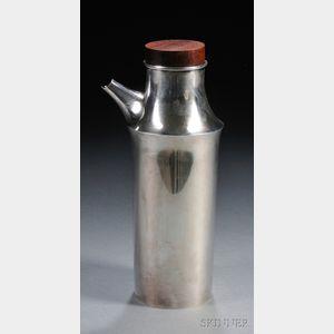Scandinavian Silver Decanter