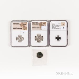Four Ancient Coins