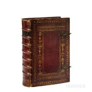Bible, German. Biblia mit der Nusselgung. Das ist: Die Gantze Heilige Schrift D. Martinin Lutheri.