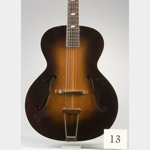 American Archtop Guitar, Epiphone Incorporated, New York, 1932, Model  Blackstone