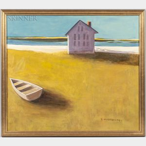 Jeanne Maestranzi (American, 20th/21st Century)      Beach House