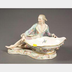 Meissen Porcelain Figural Dish