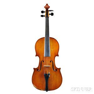 German Violin, Hans Nebel, Mittenwald, 1941