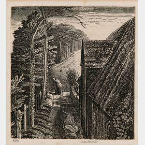 Graham Sutherland (British, 1903-1980)      Hanger Hill