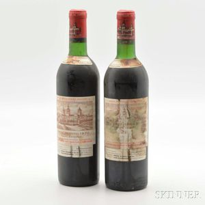 Chateau Cos dEstournel 1970, 2 bottles