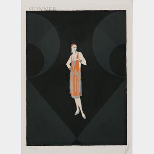 Romain De Tirtoff, called Erté (Russian, 1892-1990)      Manhattan Mary I
