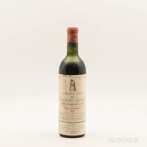 Chateau Latour 1959, 1 bottle