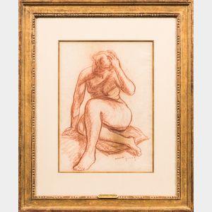 Mahonri Mackintosh Young (American, 1877-1957)      Nude