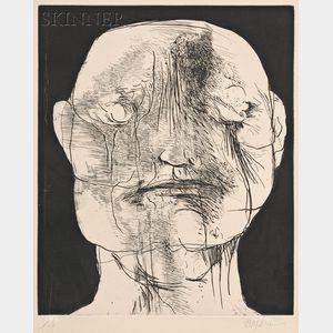 Leonard Baskin (American, 1922-2000)      William Blake