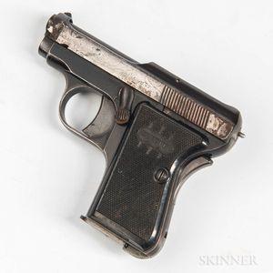 Beretta Model 418 Semiautomatic Pistol