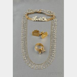 Lot of 14kt Gold Jewelry Items