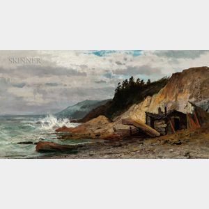 Carl Philipp Weber (American, 1849-1922)      Mount Desert Cove