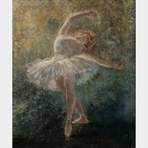 Lucien Lévy-Dhurmer (French, 1865-1953)      Dancer in White